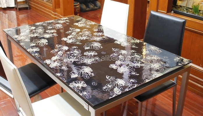 clear dining table cover home design 2017