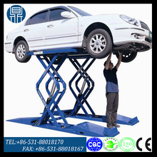 Hydraulic scissor car lift machine / car lift platform for repair