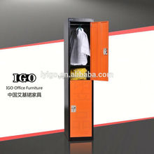 IGO-017 Stainless steel Hanging bar changing room cabinet locker