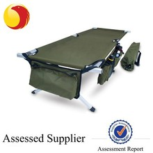 Military surplus camping sleeping cot