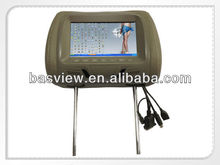 """7"""" lcd Headrest touch sceen monitor with VGA / USB touch"""