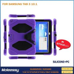New products wallet style tablet case for samsung tab 3 p5200
