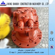 Kawasaki M5X130CHB swing motor and gearbox, excavator swing motor assy