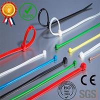 "ZHEJIN 1000pcs 6"" Nylon Cable Tie Zip Fasten Wire Self-locking Cable Tie-wrap Clear (Black Colour)"