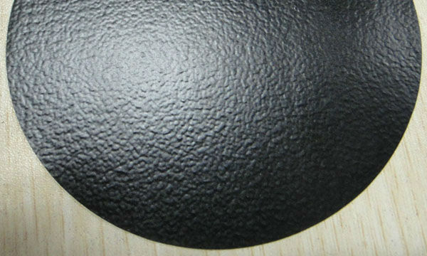 0.7mm Thick Black PVC Membrane Sheet