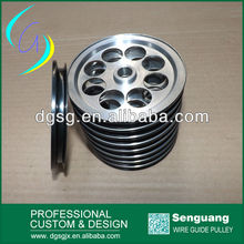 Optical Fiber And Cable Drawing Equipment Pulley, High rotation speed pulley,Excellent wear resistance ceramic coated pulley