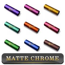 2015 New Products Vinyl Stickers 4.8mil Matte Chrome Vinyl Car Wrap