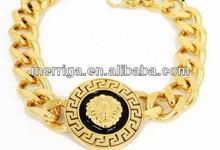 joyas de oro de la moda pulsera de cadena