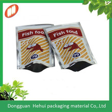 custom printing three side sealed air proof food pakcaging bag