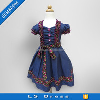 latest children frocks designs one piece girls party dresses