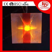 christmas gift box chain decoration light with CE ROHS standard PVC led christmas light