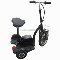 350w/500w 250cc three wheel gas scooters with removable seat
