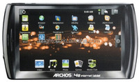 For Archos 48 Internet tablet 500Gb Tablet Touch Screen Digitizer Sensor LCD Display Matrix USB PCB Battery Cover Parts