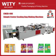 three-sides sealing and center sealing eco bag making machine