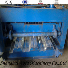china supplier steel floor deck plate roll forming machine