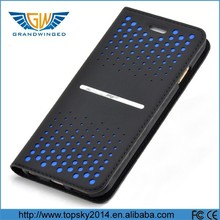 2015 hot sale leather flip phone case, double phone case leather, leather case for mobile phone
