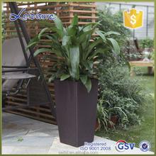 hydropon rattan plant pot, garden plant pots
