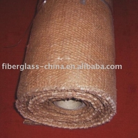 Vermiculite ceramic fiber fabric