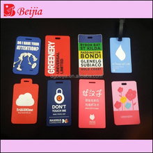 Promotion Goods Silicone Rubber Travel Bag Tag Label