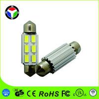 FESTOON DC12/24V 6PCS 5630 high power led CANBUS car light