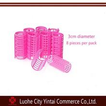 New design hair roller as seen on tv/plastic hair styling tools/cheap DIY hair roller meches