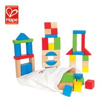 لطيف تصميم الصغيرة الجديدة الحديثة هندسية كتلة الخشب لعبة