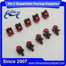 FBTUN014RD Universal Motorcycle Stainless Fairings Bolts Red Kit For CBR900RR