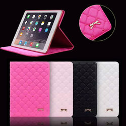 Crown leather case for ipad, for ipad 4 girl case