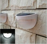 Wireless LED Solar Powerd Security Motion Sensor Light Wall/garden Lamp Path Light with Li-ion Battery