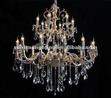 2012 crystal chandelier, pendant light/lamp SL7027-12+6