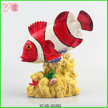 YC-GS-101501 2015 New Fish Decoration Resin Folk Arts And Crafts