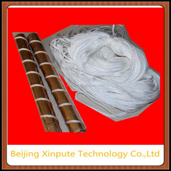 Wire or rope ink stirring roller