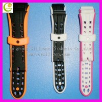 New arrival multi-color silicone watch band,promotional brand geneva quartz watches,ladies 22mm silicone rubber watch straps