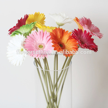 artificial Gerbera daisy flowers real touch artificial daisy flowers wholesale colorful chrysanthemum