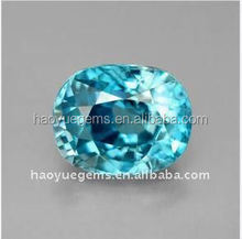 hot sale synthetic diamond aquamarine cubic cz gem akik stone