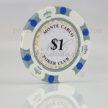 High Quality Custom Logo Poker Chips Promotion Poker Chips (KL037)
