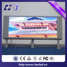 energy saving p10 outdoor full color pixel pitch 10mm led display