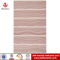 low price ceramic wall tile of 250x400mm size pink color tile