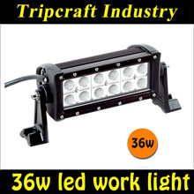 "Original factory 7.5"" 36W Offroad SUV AWD 4x4 ATV Flood SPOT LED LIGHT BAR 12V 24V"