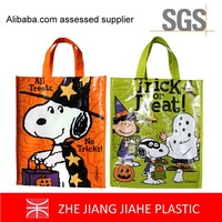 cheap customs non woven shopping bag printed plastic bags