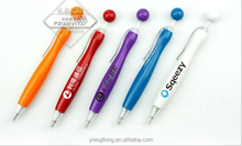 2015 creative cute DIY advertising ball pen for promotion