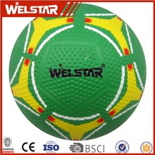 Wholesale High Quality Official Size Rubber Soccer Ball Size 5 Football Custom Logo Printed
