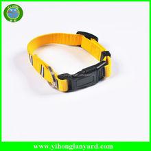 low price Customized nylon webbing dog leash, dog collar and leash