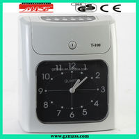 electric time recorder nideka clock system (T-100)