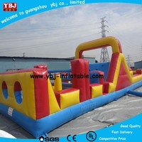 High Quality Children's Outdoor Inflatable Obstacle Course /playground inflatable cheap obstacle course