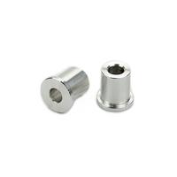cnc turning pipe fitting machine aluminum bushing