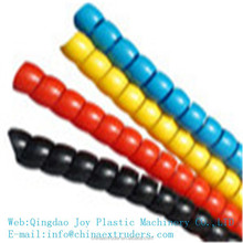 hydraulic hose spiral protective sleeve extrusion line hose sheath production line