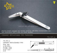 73L .MZ.sa steel ceramic smart tweezers