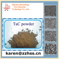 High purity tantalum carbide powder metallic electrical conductivity tantalum carbide material of high temperature coating