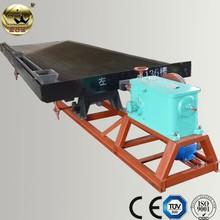 Mining équipement de séparation en secouant la Table et prix du minerai de titane
